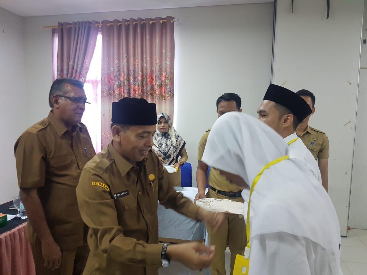 38 CPNS Aceh Besar Ikuti Latsar