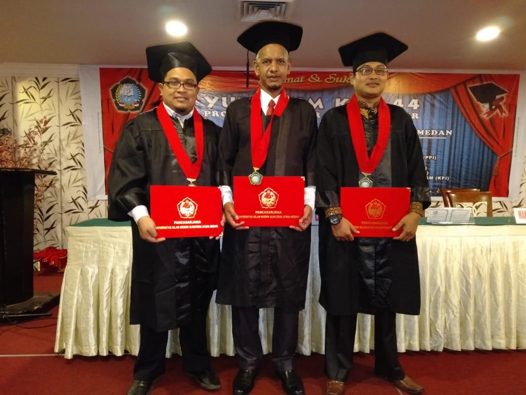 Alumni MUDI Samalanga Berhasil Meraih Predikat Terbaik dalam Yudisium Doktor UINSU
