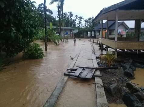 10 Unit Rumah di Desa Blang Bungong Terendam Banjir