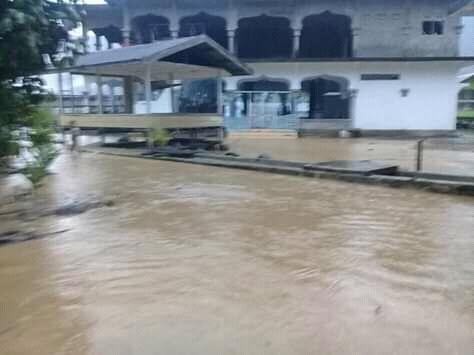 Banjir di Tangse Merambah ke Dua Desa Lain