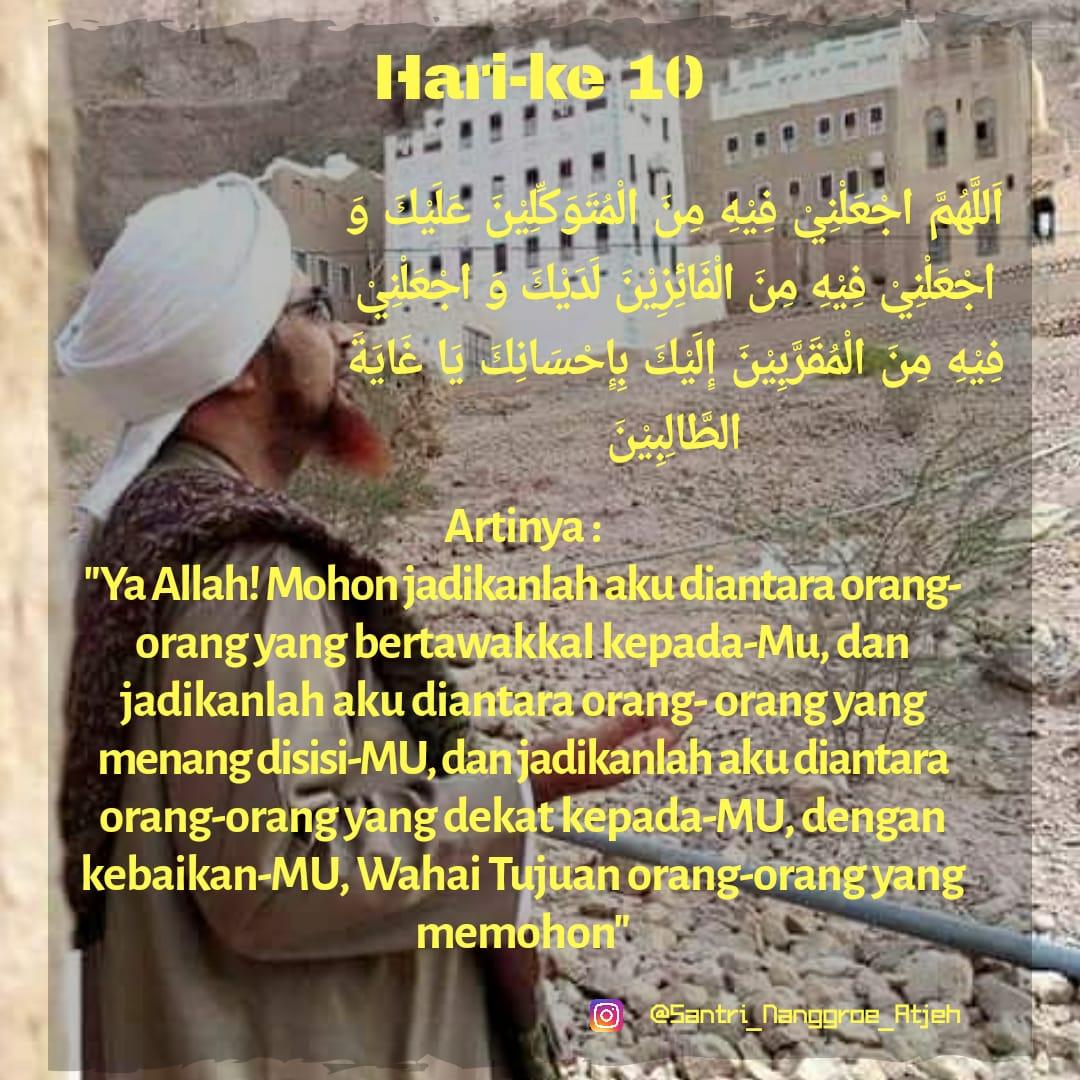 Doa Puasa Hari ke-10 Ramadhan dan Hikmahnya