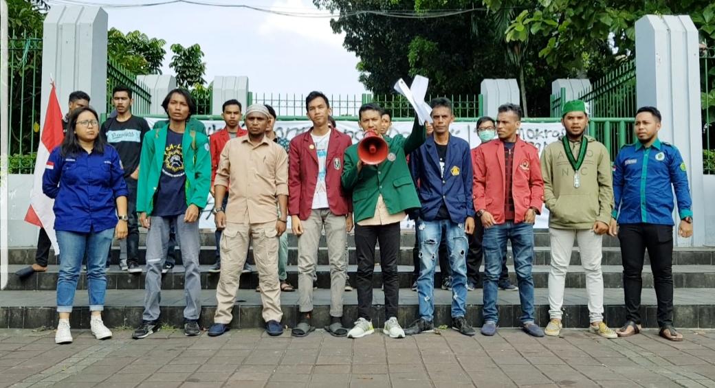 14 OKP Mahasiswa Jakarta Tolak Hasil Pemilu 2019