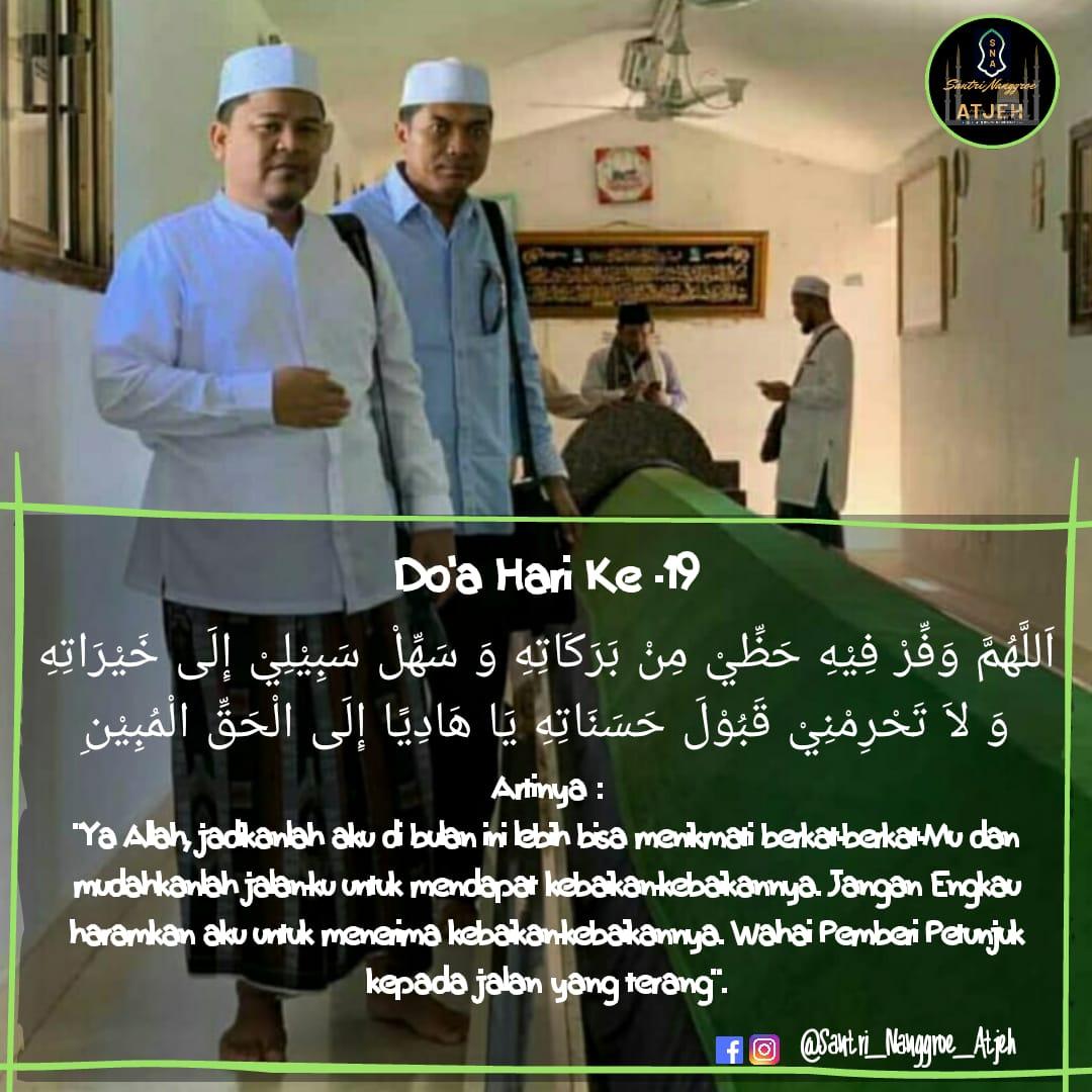 Doa Puasa Hari ke-19 Ramadhan dan Hikmahnya