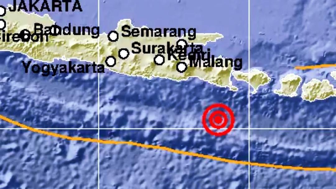 Hari ini, Bali Kembali Diguncang Gempa Berkekuatan Magnitudo 5.0 SR