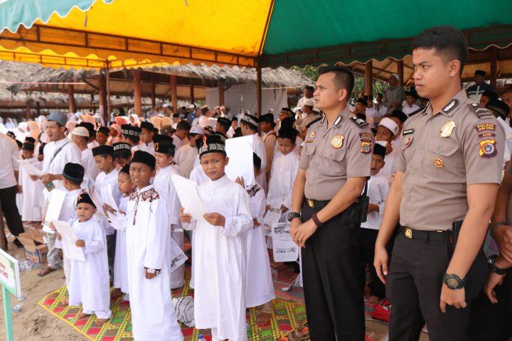 Puluhan Personel Amankan Wisata Islami Anak Berzikir
