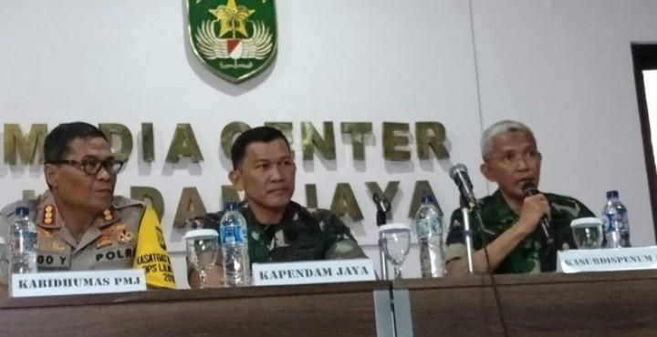 Pelaku Penembakan Letkol Dono Diringkus di Pasar Jengki