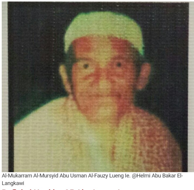 Abu Usman Al-Fauzi Lueng Ie #1: Sosok Ulama Kharismatik dan Pejuang Naqsyabandiah Aceh