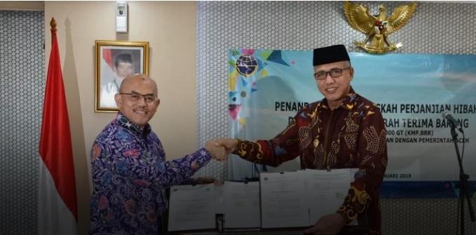 Kemenhub Kirim Satu Kapal Penumpang ke Aceh