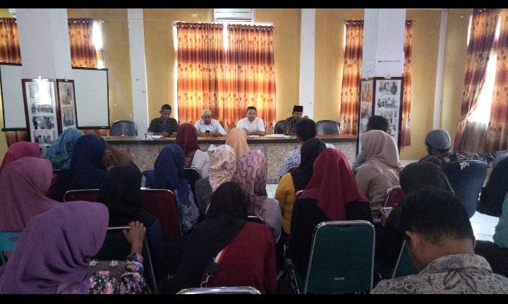 KIP Pidie Jaya Gelar Rakor dan Evaluasi Relawan Demokrasi