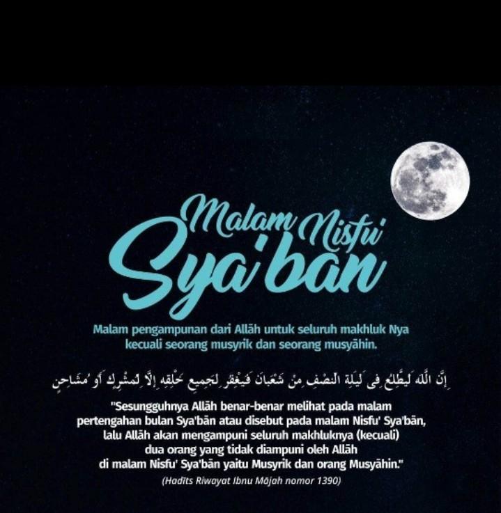 Kapan Malam Nisfu Syakban? Yuk, Kita Meminangnya dengan Ibadah