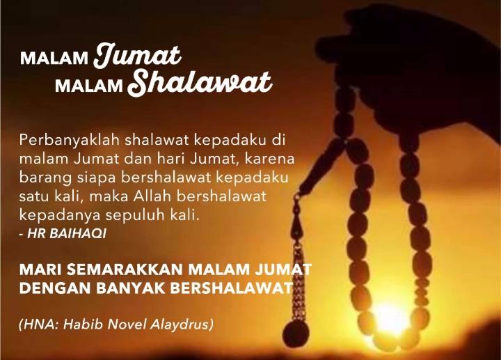Memperbanyak Shalawat Malam Jum'at