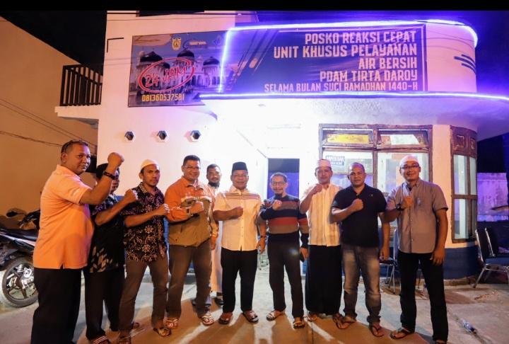 Selama Ramadhan, PDAM Tirta Daroy Bentuk Tim Khusus