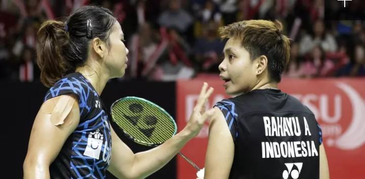 Lewat Perjuangan Ganda Putri, Akhirnya Indonesia Juara Grup Piala Sudirman 2019