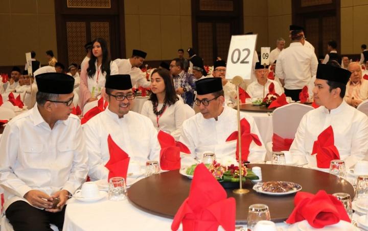 Plt. Gubernur Aceh Buka Puasa Bersama Presiden Jokowi