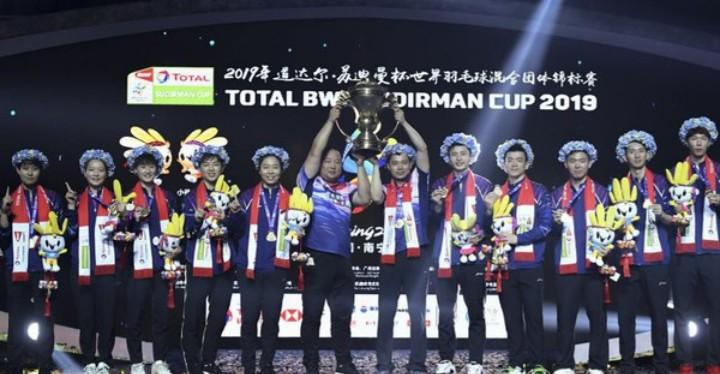 China Berhasil Meraih Piala Sudirman 2019 Pasca Membekuk Jepang 3-0