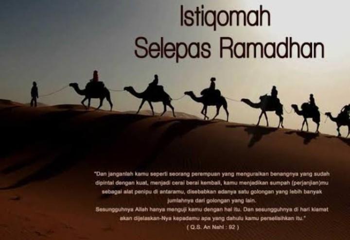 Mari Beristiqamah Beribadah Pasca Ramadhan