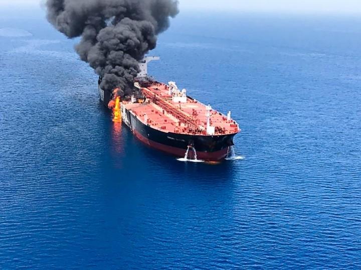 Teheran Menolak Klaim Amerika Serikat Terlibat dalam Serangan Kapal Tanker