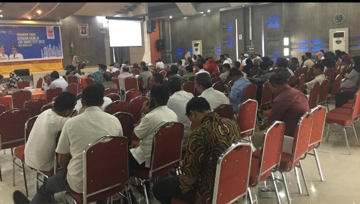 Pemko Banda Aceh Gelar Bimtek Gerakan Menuju 100 Smart City