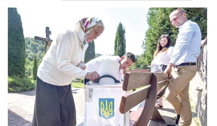 Negara Ukraina Menggelar Pemilu Sela