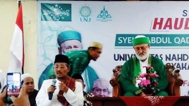 Rais Syuriah PWNU Yogyakarta, Apresiasi UNU Terkait Haul Akbar Syeikh Abdul Qodir Al Jailani