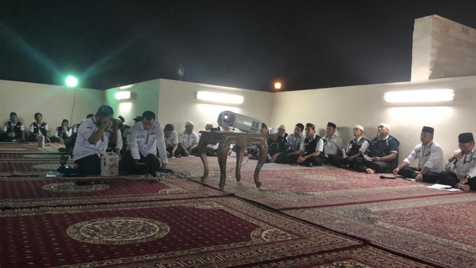 Masa Haji 2019 Berakhir, Petugas Haji Kemenag Gelar Do'a Bersama