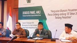 PP ISNU Gelar Diskusi Panel Ahli, Bahas Ekonomi Pesantren