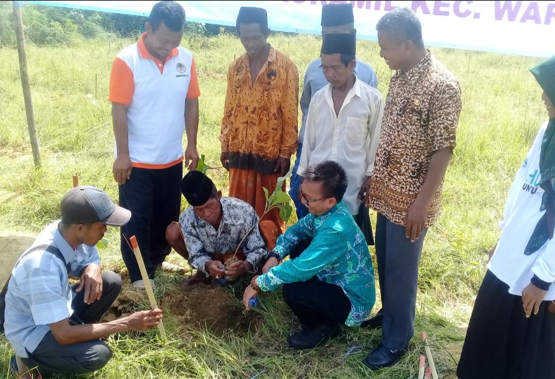 Cegah Banjir dan Longsor, Desa Bajur Gelar Tanam 60 Ribu Pohon