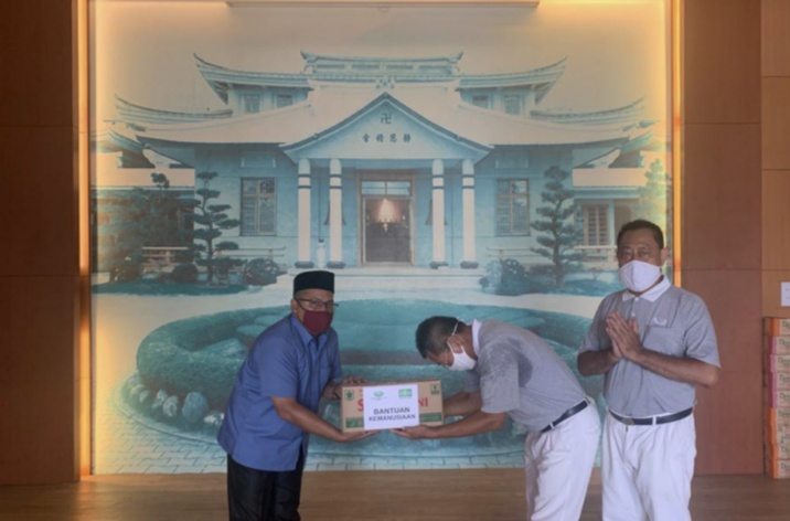NU Sumbar Gandeng Yayasan Tzu Chi Indonesia Salurkan Paket Sembako