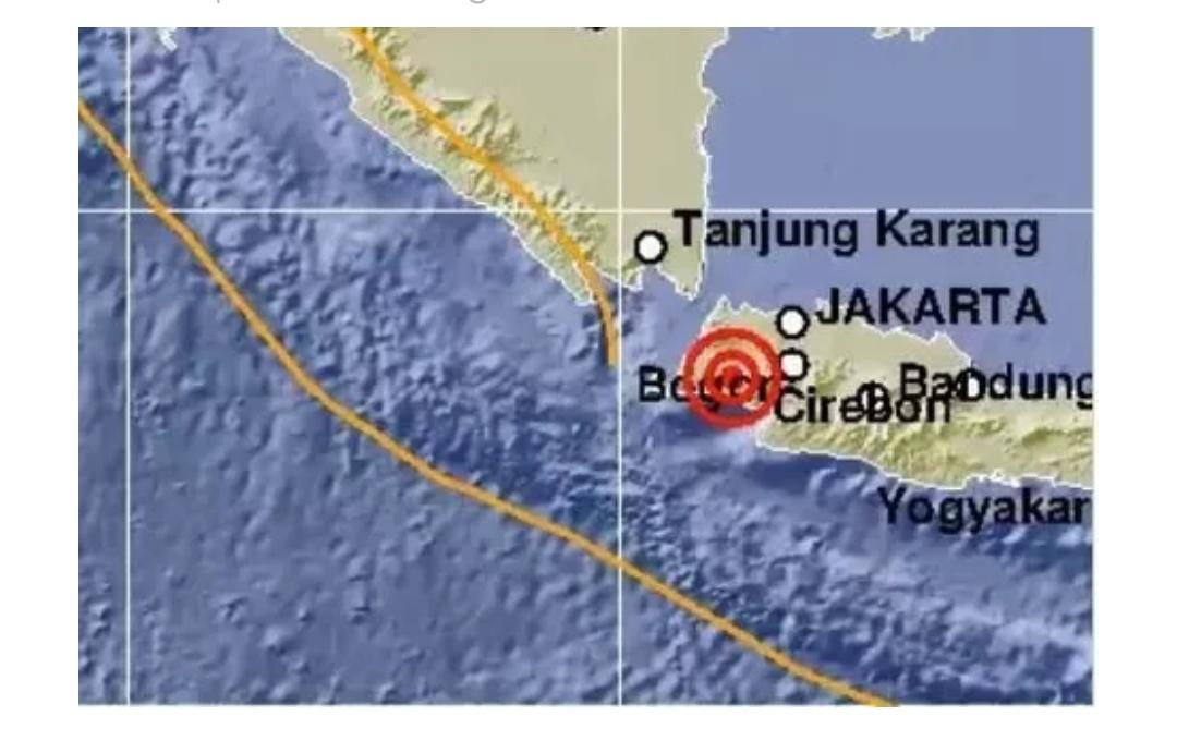 Gempa M 5,4 di Banten, BMKG: Tidak Berpotensi Tsunami