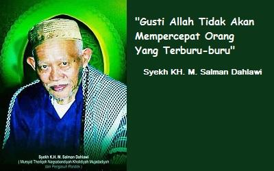 Biografi KH Muhammad Salman Dahlawi