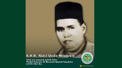 Biografi KH. R. Abdul Qadir Munawwir