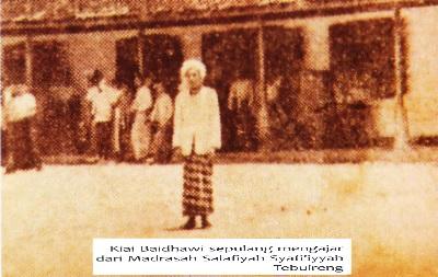 Biografi KH. Ahmad Baidhawi Asro