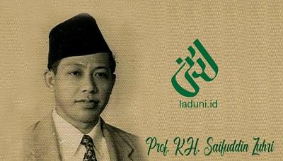 Biografi Prof. KH. Saifuddin Zuhri