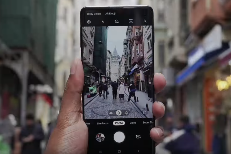 Kamera Galaxy S10 Kini Sudah Bisa Gunakan Mode Malam