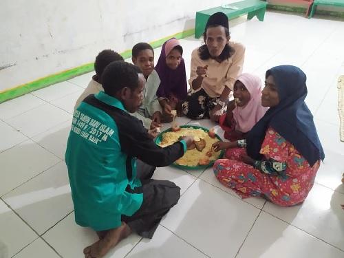 Santri Goes To Papua: Kegiatan Khataman di Tengah Pandemi COVID-19