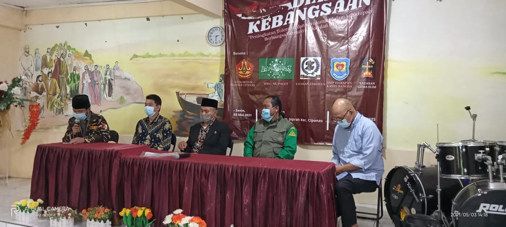 NU Pacet & Banser Cipanas Cianjur Gelar Dialog Kebangsaan