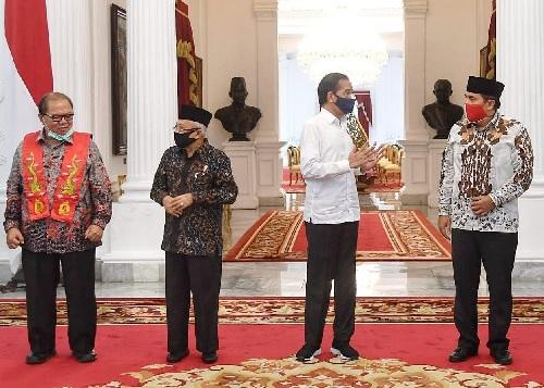 Pertemuan Presiden dengan 8 Tokoh Lintas Agama di Istana
