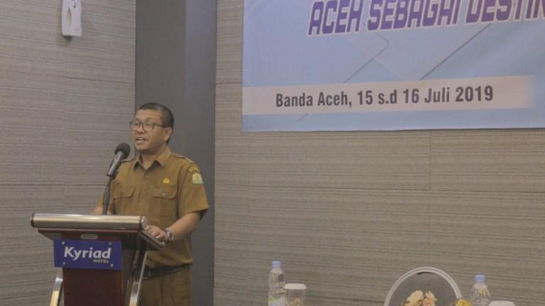 Disbudpar Ajak Bangun Wisata Aceh dengan Cara Halal, Bukan Menghalalkan Segala Cara