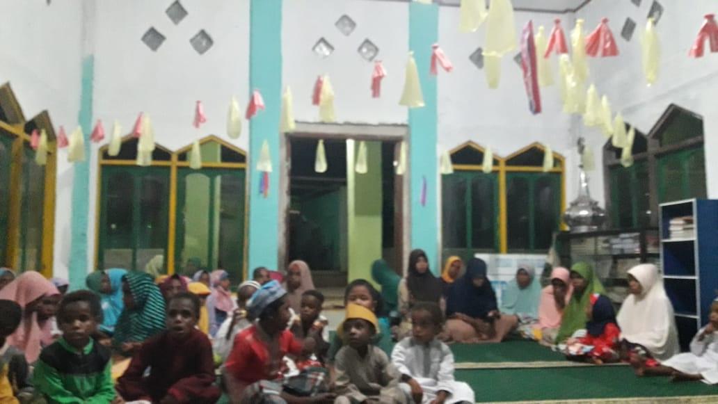 Santri Goes To Papua: Demi Merayakan Maulid Nabi Anak-anak Suku Kokoda Rela tidak Jajan