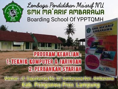 SMK Ma'arif Ambarawa Pringsewu, Lampung