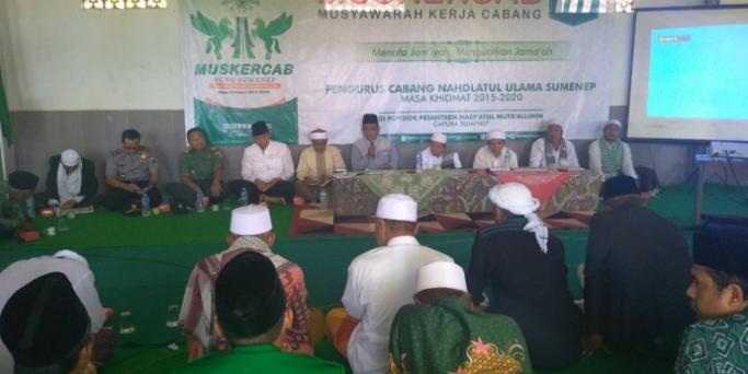 Perkuat Jamiyah, NU Sumenep Gelar Muskercab di Pesantren
