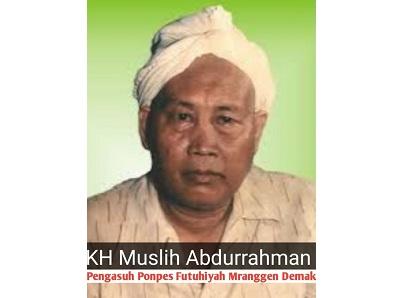 Biografi KH. Muslih al-Maraqi
