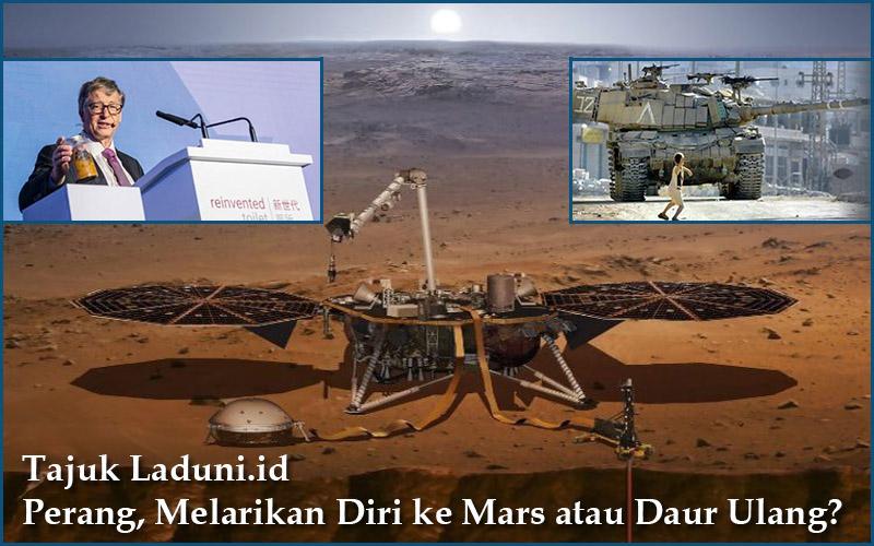 Akhir Perang Peradaban: Melarikan Diri ke Mars atau Mendaur Ulang Semua Sampah untuk Tetap di Bumi?