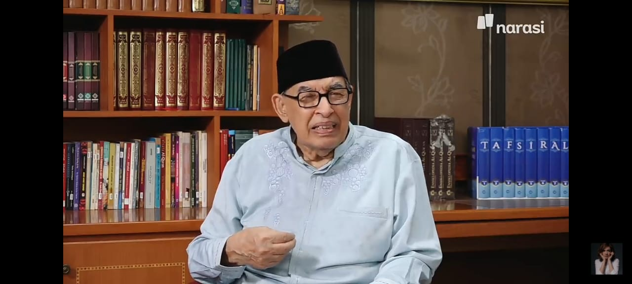 Tiga Arti Halalbihalal Menurut M. Quraish Shihab