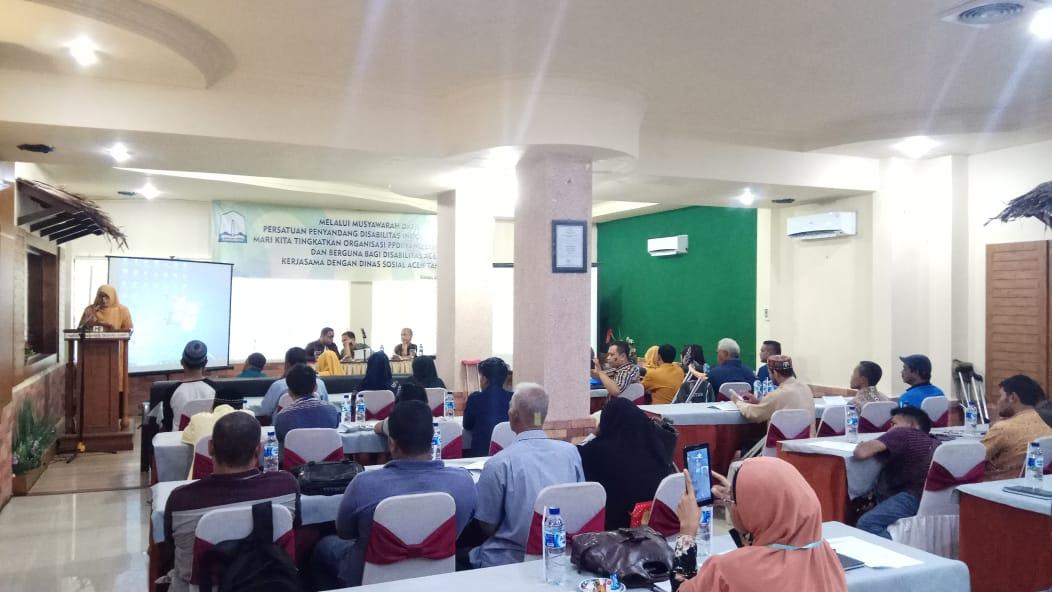 Hamdanil Terpilih Sebagai Ketua PPDI Aceh Periode 2018-2023
