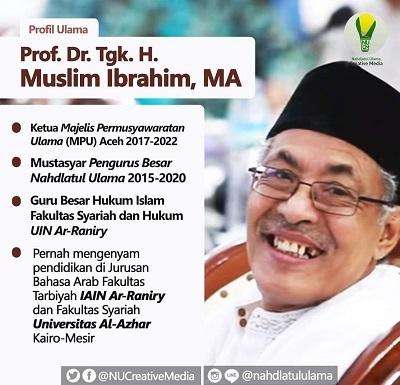 Mukhtasyar PBNU Kiai Muslim Ibrahim Telah Berpulang