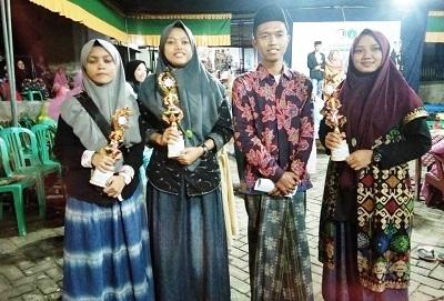 Kader PMII Guluk-Guluk, Boyong Juara Cipta Baca Puisi Se-Madura