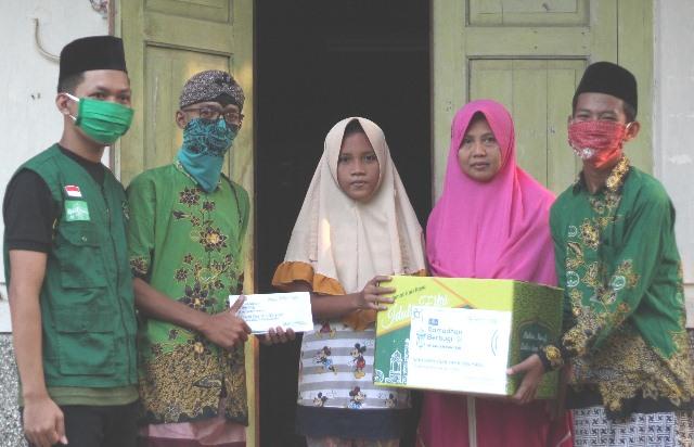 Program Santunan Rutin Bulan Ramadhan, Ketua Ranting NU Sidorejo: KBNU, Insya Allah Dapat Keberkahan