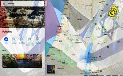 Meluruskan Narasi Palestina Hilang dari Google Maps