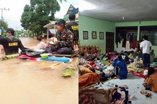 Gerak Cepat, Ansor-Banser Bantu Evakuasi Korban Banjir di Kalsel